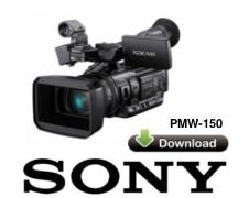 Sony PMW-150 için Yazılım Güncellemesi V1.11