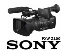 Sony PXW-Z100 4K XDCAM Kamera