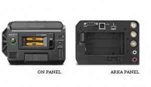 Sony PMW-50 On Arka