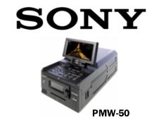 Sony PMW-50 HD422 XDCAM Portatif SxS Kaydedici